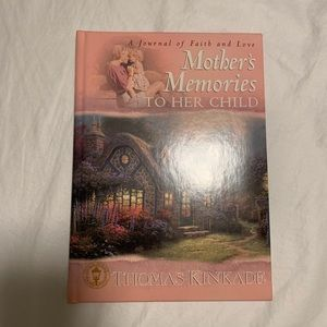 Thomas Kinkade Mother's Memory Book